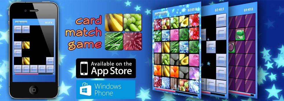 Card Match Game                 banner